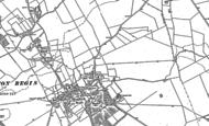 Old Map of Parkside, 1881 - 1900