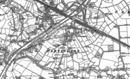 Old Map of Partington, 1894 - 1905