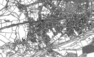 Old Map of Patricroft, 1889 - 1894