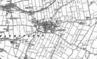 Old Map of Patrington, 1889 - 1908