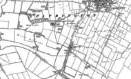 Old Map of Patrington Haven, 1888 - 1889