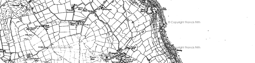 Old map of Paul in 1906