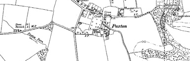 Old map of Baldersbury Hill centred on your home