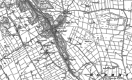 Old Map of Peak Dale, 1879 - 1880