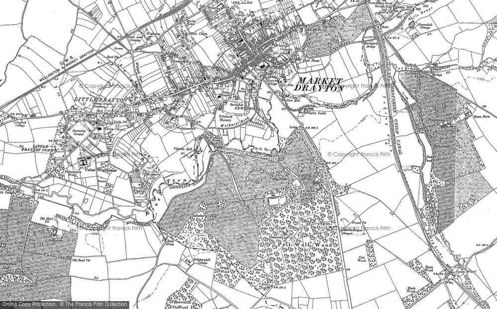 Old Map of Pell Wall, 1879 - 1880 in 1879