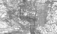 Old Map of Pen-twyn, 1899 - 1900