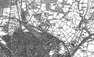 Old Map of Pen-y-lan, 1916
