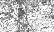 Old Map of Pendre, 1914