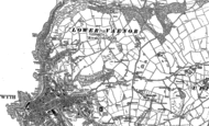 Old Map of Penglais, 1904