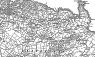 Old Map of Pengorffwysfa, 1899