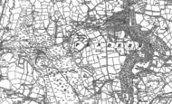 Old Map of Penllergaer, 1905 - 1914