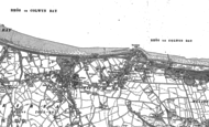 Old Map of Penmaen Rhôs, 1911