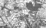 Old Map of Pennycross, 1912