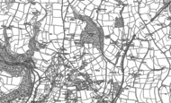Old Map of Penpillick, 1881 - 1906