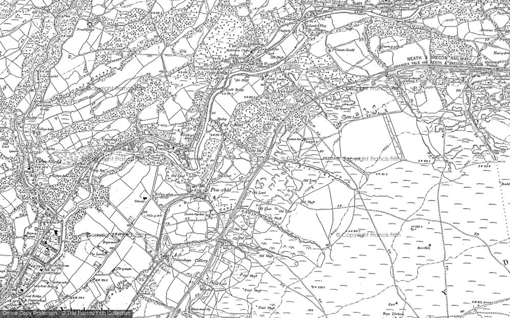 Old Map of Penrhos, 1903 in 1903