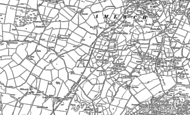 Old Map of Penrhyd Lastra, 1899