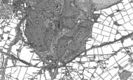 Old Map of Penrhyn Castle, 1899