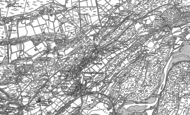 Old Map of Penrhyndeudraeth, 1913