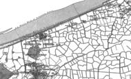 Old Map of Pensarn, 1911