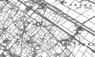 Old Map of Pentre, 1898 - 1910