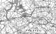 Old Map of Pentrefoelas, 1899 - 1910
