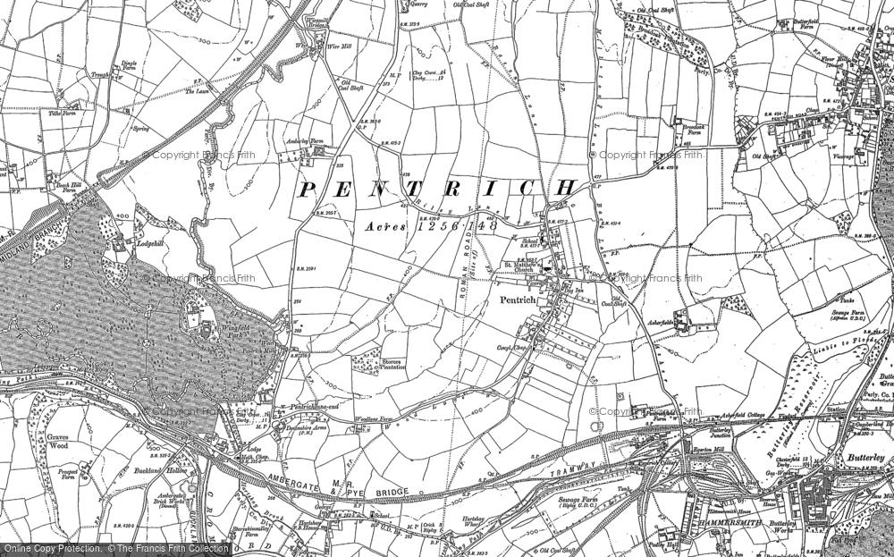 Pentrich, 1879 - 1880