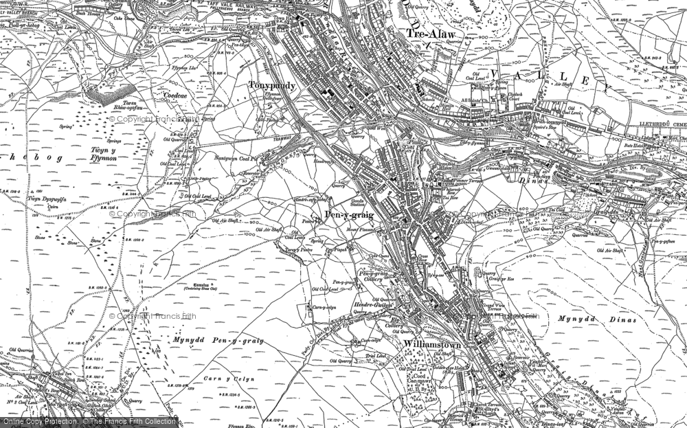 Penygraig, 1898
