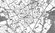 Old Map of Peover Heath, 1897