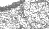 Old Map of Peppercombe, 1904