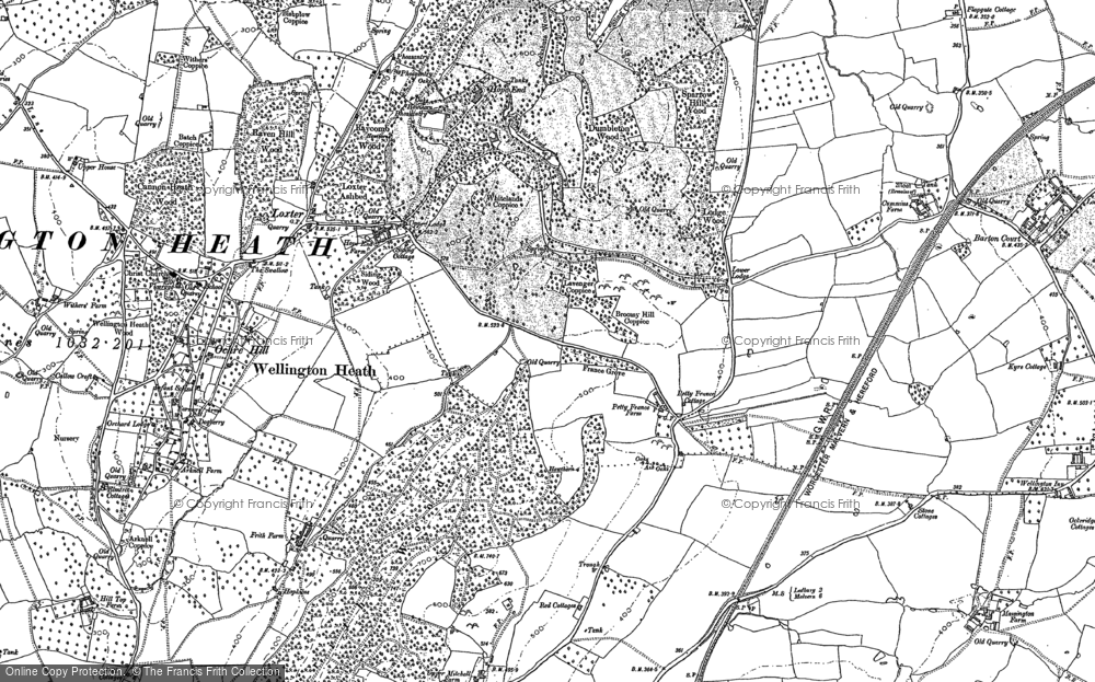 Old Map Of France.Old Maps Of Petty France Francis Frith