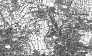 Old Map of Peverell, 1905 - 1912
