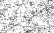 Old Map of Phocle Green, 1887 - 1903