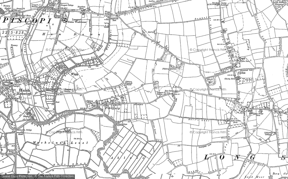 Pibsbury, 1885 - 1886