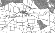 Old Map of Pickworth, 1886 - 1903