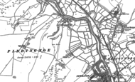 Old Map of Piddinghoe, 1898 - 1908