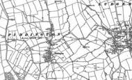 Old Map of Piddington, 1898 - 1919