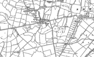 Old Map of Pidley, 1900