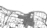 Old Map of Piercebridge, 1912 - 1913