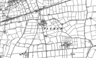 Old Map of Pilham, 1885