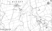 Old Map of Pineham, 1924