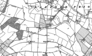 Old Map of Pitchill, 1883 - 1903