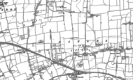 Old Map of Pitsea, 1895