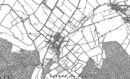 Old Map of Pitton, 1908 - 1924