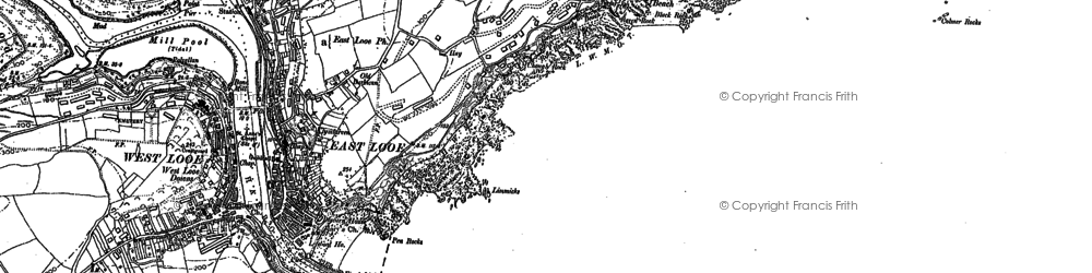 Old map of Limmicks in 1881