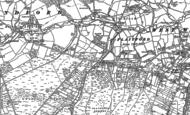 Old Map of Plaitford, 1895 - 1908