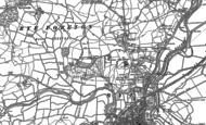 Old Map of Playden, 1908