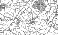 Old Map of Plumpton, 1883
