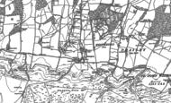 Old Map of Plumpton, 1896 - 1897