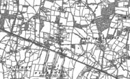 Old Map of Plumpton Green, 1896