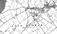 Old Map of Pockthorpe, 1885